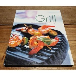Other - Grill Cookbook Hardcover Recipes Cooking Dinner